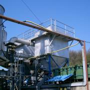 Veszélyes hulladék égető technológia filtere